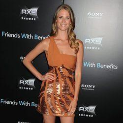 Julie Henderson en la premiere de 'Friends with benefits' en Nueva York