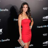 Emmanuelle Chriqui en la premiere de 'Friends with benefits' en Nueva York