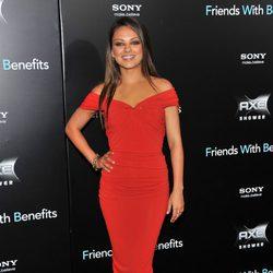 Mila Kunis en la premiere de 'Friends with benefits' en Nueva York