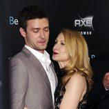 Justin Timberlake y Patricia Clarkson en la premiere de 'Friends with benefits' en Nueva York