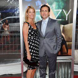 Steve Carell y su mujer en el estreno de 'Crazy, Stupid, Love' en Nueva York