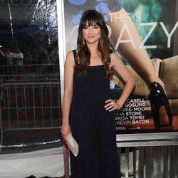 Krystal Reed en el estreno de 'Crazy, Stupid, Love' en Nueva York