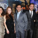 Marisa Tomei, Julianne Moore, Steve Carell, Ryan Gosling y Emma Stone en el estreno de 'Crazy, Stupid, Love'