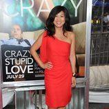 Liza Lapira en el estreno de 'Crazy, Stupid, Love' en Nueva York