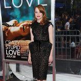 Emma Stone en el estreno de 'Crazy, Stupid, Love' en Nueva York
