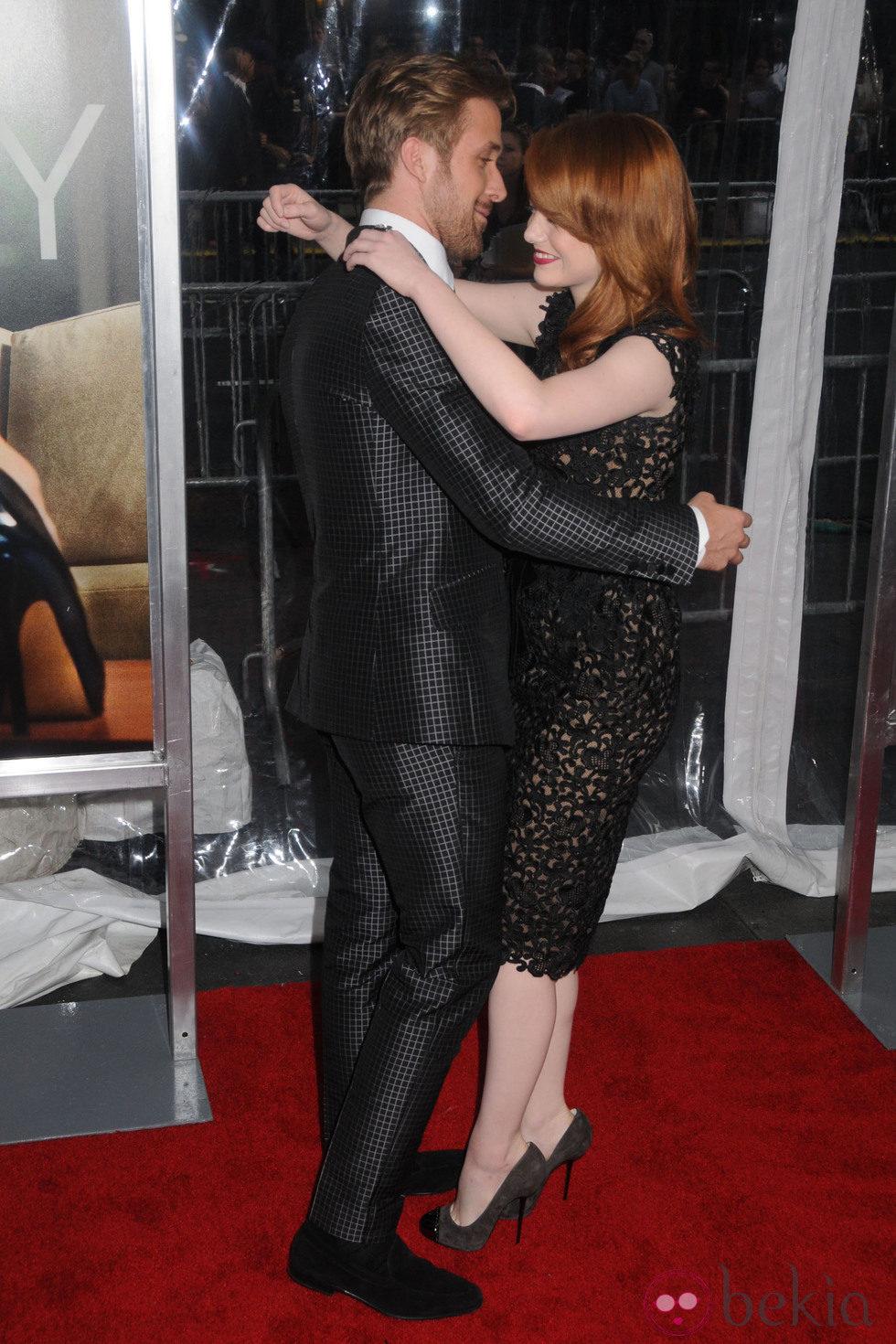 Ryan Gosling y Emma Stone se marcan un baile en el estreno de 'Crazy, Stupid, Love' en Nueva York