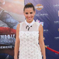 Elsa Pataky en la premiere en Los Angeles de 'Capitán América: El primer vengador'