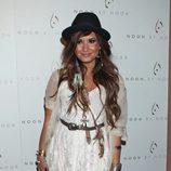 Demi Lovato muy hippie en la fiesta de 'Noon by Noor'
