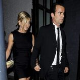Jennifer Aniston y Justin Theroux juntos en Londres