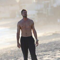 Eric Dane con el torso desnudo