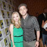 Justin Timberlake y Amanda Seyfried en Comic-Con 2011
