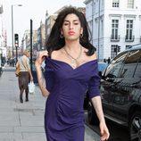 Amy Winehouse en Londres en octubre de 2010