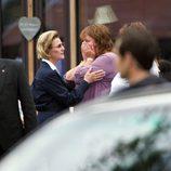 La reina Sonia de Noruega apoya a las víctimas de la masacre