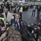 El presidente noruego, afectado tras la masacre de Oslo