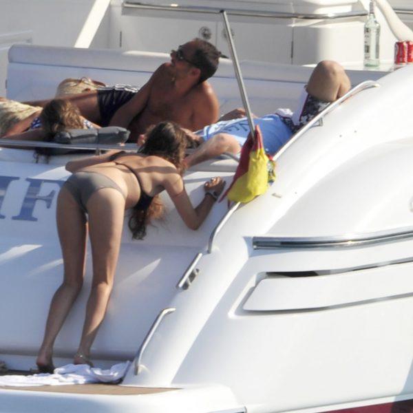 Dani Martín y su novia, Huga Rey, vacaciones en Ibiza