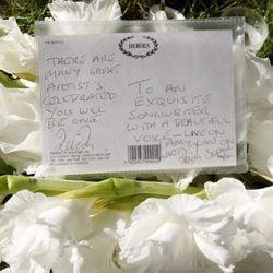 Cartas en recuerdo de Amy Winehouse