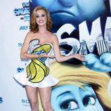 Katy Perry en la premiere de 'Los Pitufos' en Nueva York
