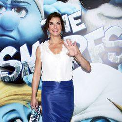 Brooke Shields en la premiere de 'Los Pitufos' en Nueva York