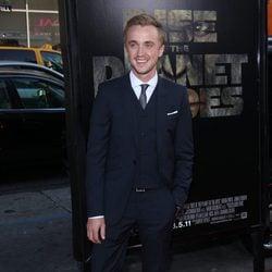 Tom Felton en el estreno de 'El origen del planeta de los Simios' en Los Angeles