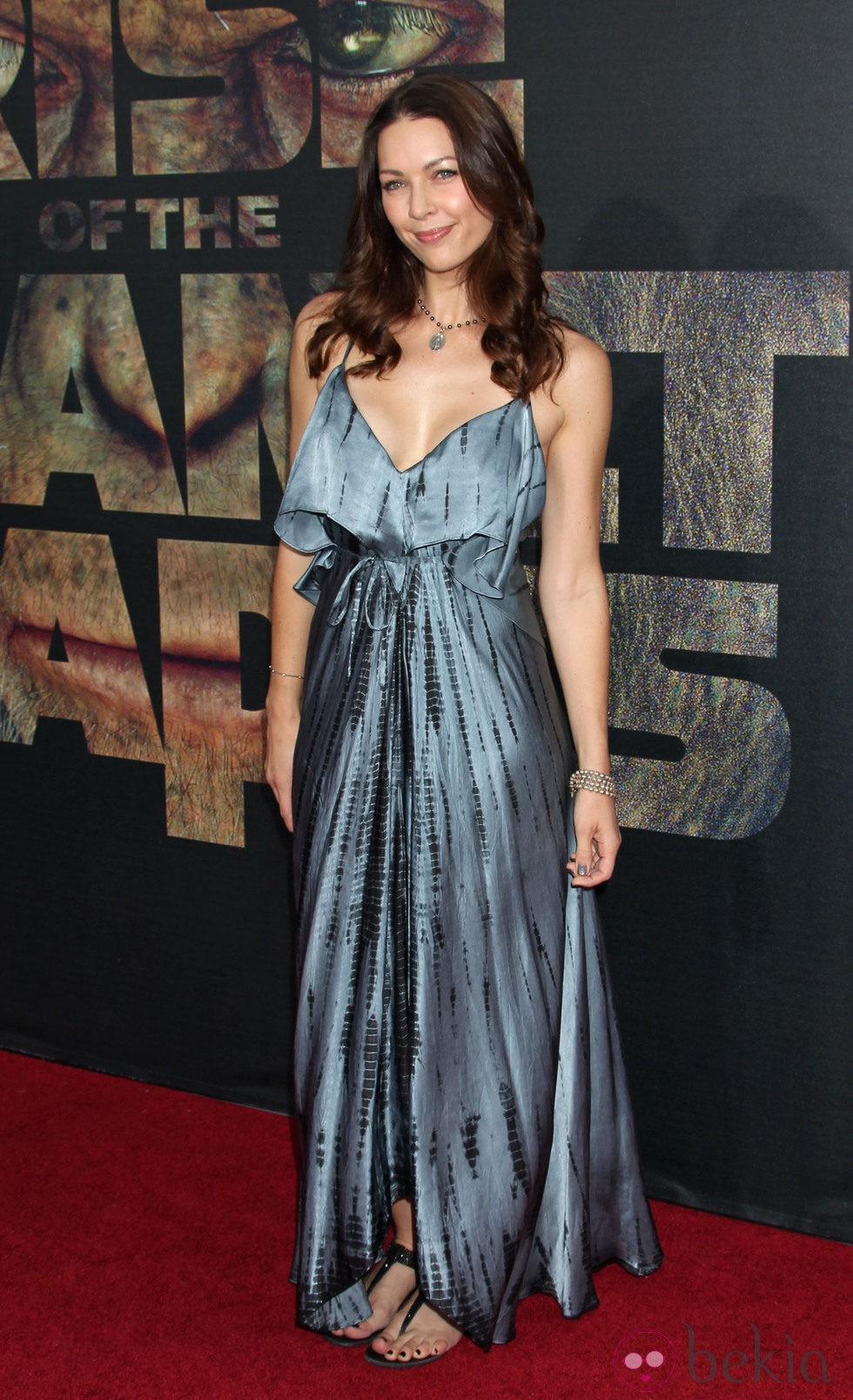 Louise Griffiths en el estreno de 'El origen del planeta de los Simios' en Los Angeles