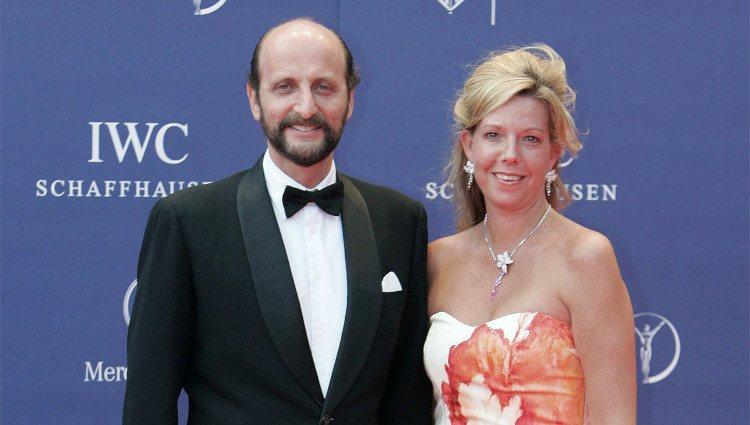 Simoneta Gómez-Acebo y José Miguel Fernández-Sastrón