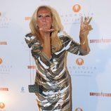 Rosa Benito, la gran ganadora en la fiesta de 'Supervivientes 2011'