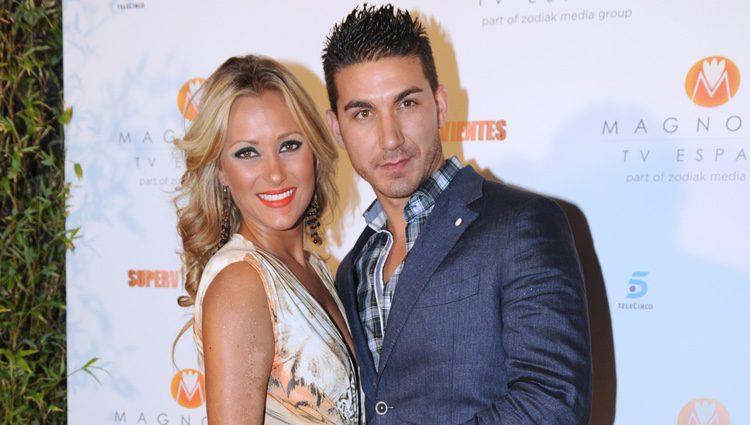 Rosi Arcas y su novio Marcos