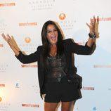 Aída Nizar en la fiesta de 'Supervivientes 2011'