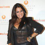 Aída Nizar dejo verse en la fiesta final de 'Supervivientes 2011'
