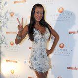 Tatiana Delgado en la fiesta de 'Supervivientes 2011'