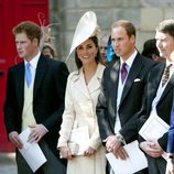 Los Duques de Cambridge en la boda de Zara Phillips