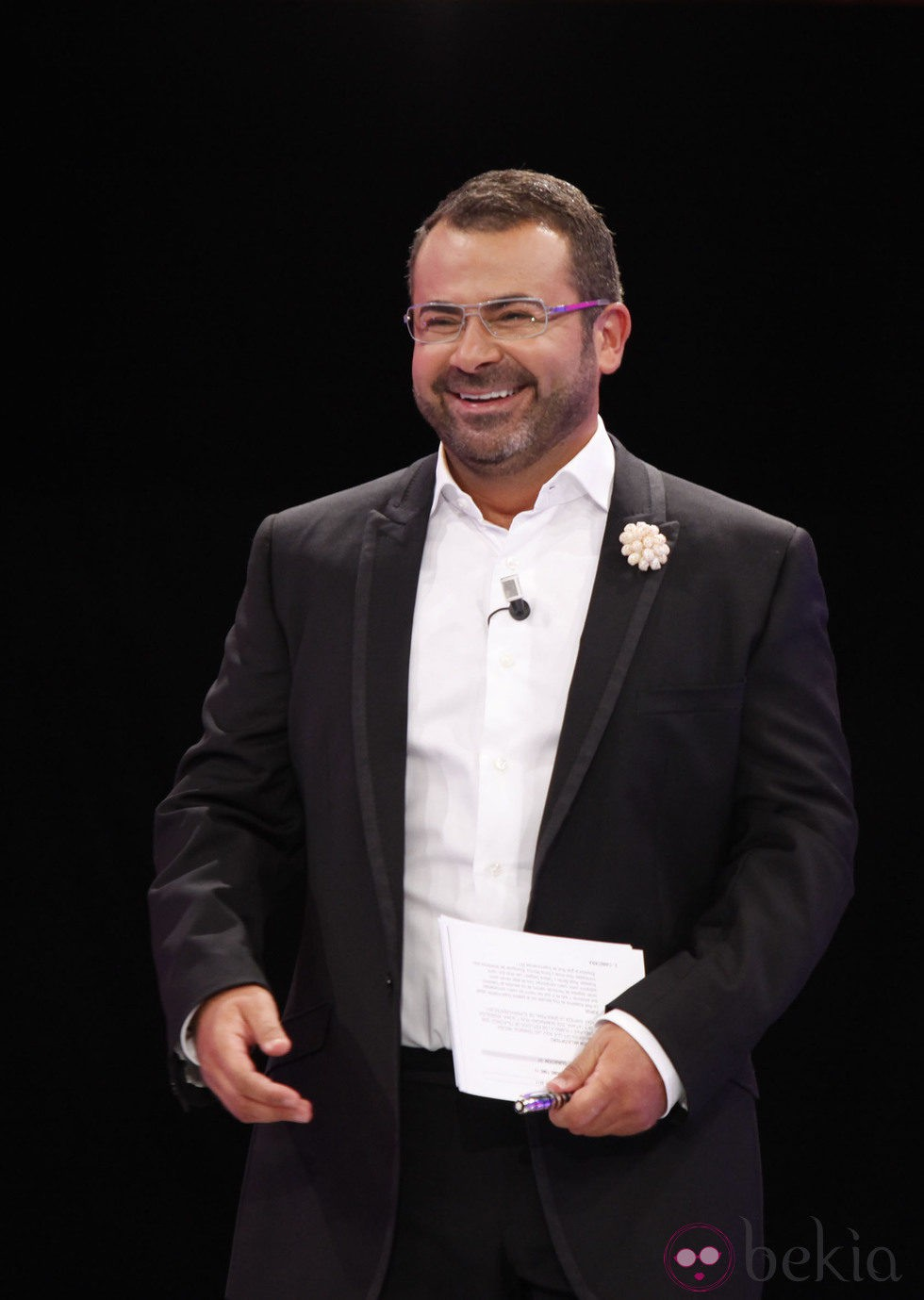 Jorge Javier Vázquez en la final de 'Supervivientes 2011'