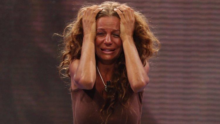 Sonia Monroy en la final de 'Supervivientes 2011'