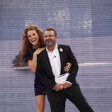 Jorge Javier Vázquez y Raquel Sánchez Silva, presentadores de 'Supervivientes 2011'