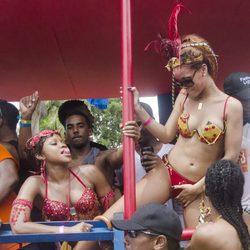 Rihanna muy sexy en el Barbados Kadooment Day Parade