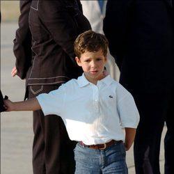 Felipe de Marichalar con 6 años