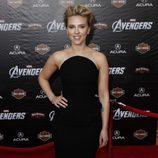Scarlett Johansson en la premiere de 'Los Vengadores' en Los Ángeles