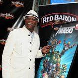 Samuel L.Jackson en la premiere de 'Los Vengadores' en Los Angeles