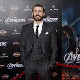 Chris Evans en la premiere de 'Los Vengadores' en Los Angeles