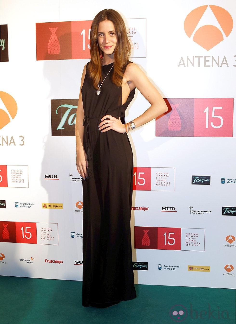 Gala González en la presentación del Festival de Málaga 2012