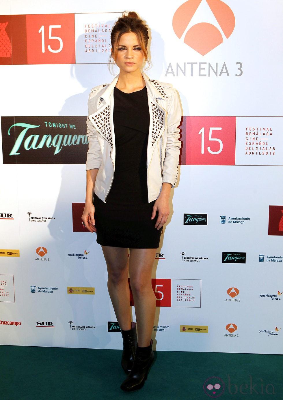 Paula Cancio en la presentación del Festival de Málaga 2012