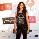 Melani Olivares en la presentación del Festival de Málaga 2012