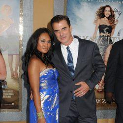 Chris Noth y su mujer Tara Wilson