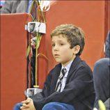 Froilán de Marichalar y de Borbón con 8 años