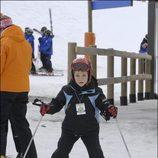 Felipe de Marichalar esquiando en Baqueira-Beret en 2007