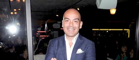 Kike Sarasola en la inauguración de un restaurante en Madrid