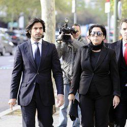 Javier Conde y Aurora Carbonell declaran en los juzgados
