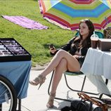 Emma Watson durante el rodaje de 'The Bling Ring'