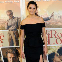 Penélope Cruz en la presentación de 'To Rome With Love' en Roma