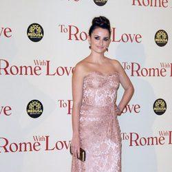 Penélope Cruz en el estreno de 'To Rome With Love' en Roma